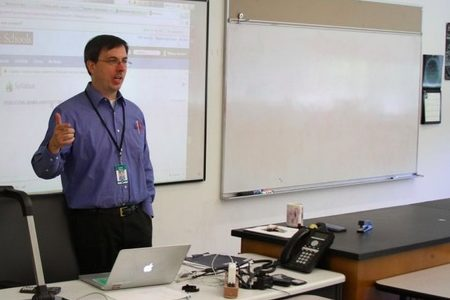 Test your knowledge of science department head and physics teacher Kenneth Rideout.