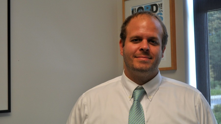 Pictured is Assistant Principal Ethan Dolleman in 2014 when he was hired for an assistant principalship at WHS. Dolleman will now begin the 2019-2020 school year as principal of Norton High School.