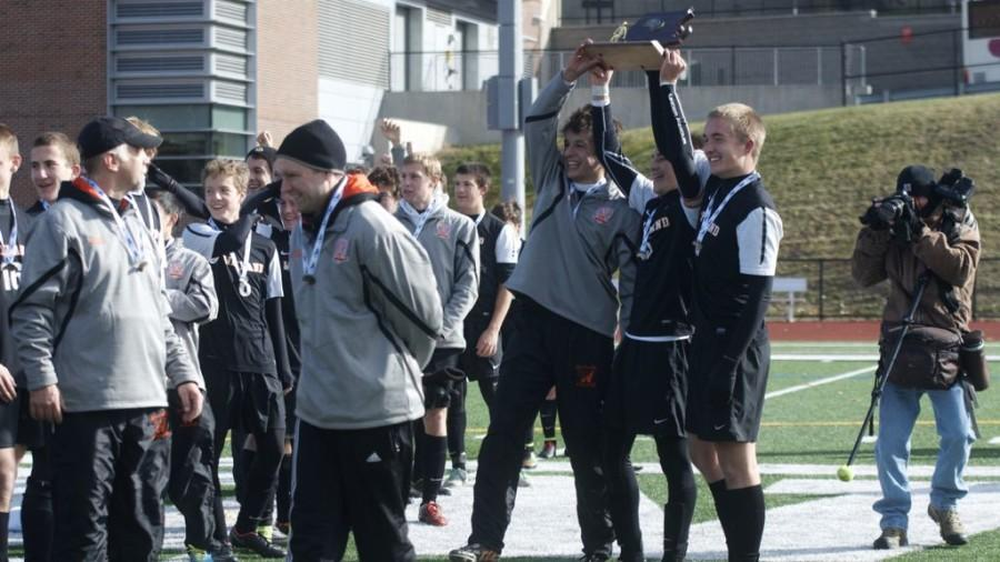 Boys' soccer wins Division 3 state championships (75 photos)