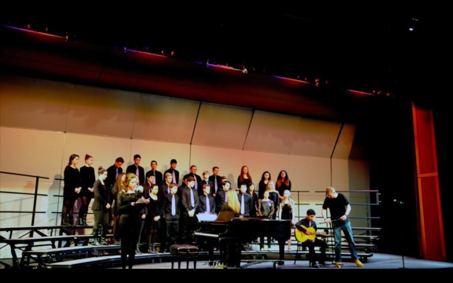 Choruses perform in Winter Concert