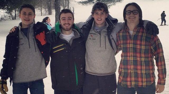 Alpine ski team wins Dual County League