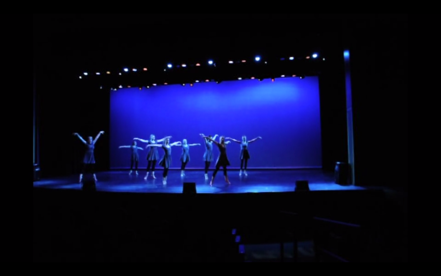 Window performs in annual show