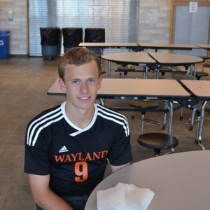 Zack Dresens Sophomore Sport(s): soccer