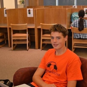 Nick Smith Freshman Sport(s): soccer, swimming, lacrosse