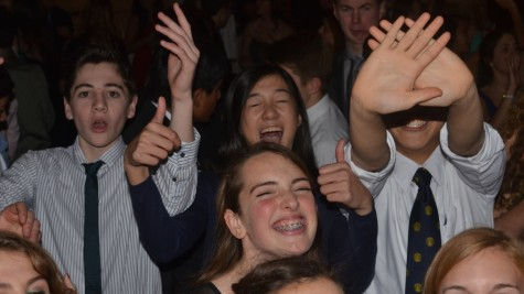 """Above is a photo from the Class of 2017s sophomore semi. The Class of 2018 has been preparing to hold their sophomore semi for the past several months. """"We're hoping as many people will come as possible, and we're trying to make it as exciting as possible,""""  sophomore class treasurer Yaniv Goren said."""