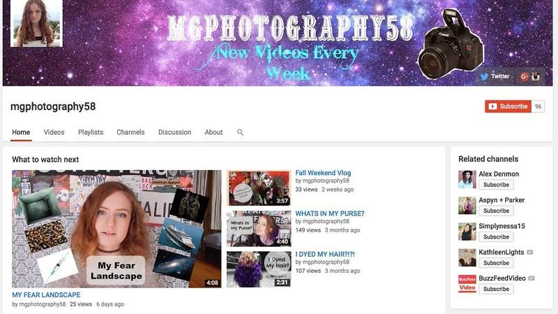 """Pictured above is sophomore Maya Golod's YouTube channel. Golod is a YouTuber. """"It makes me feel happy that people actually want to watch my videos,"""" Golod said."""