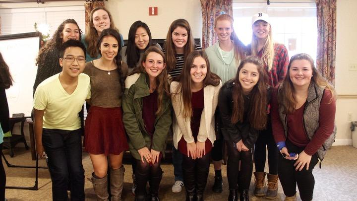 Language students carol at Sunrise Assisted Living (23 photos)