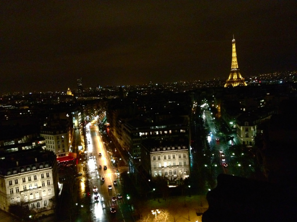 "Pictured above is Paris, the site of the recent terrorist attacks. The France trip's planned stop in Paris  has been cancelled due to the recent terror attacks, but students still feel safe going on the trip. ""With any terrorist attack you're always left worrying, but I don't think I would feel any less safe in France than I do here,"" senior Emily Pineault said."