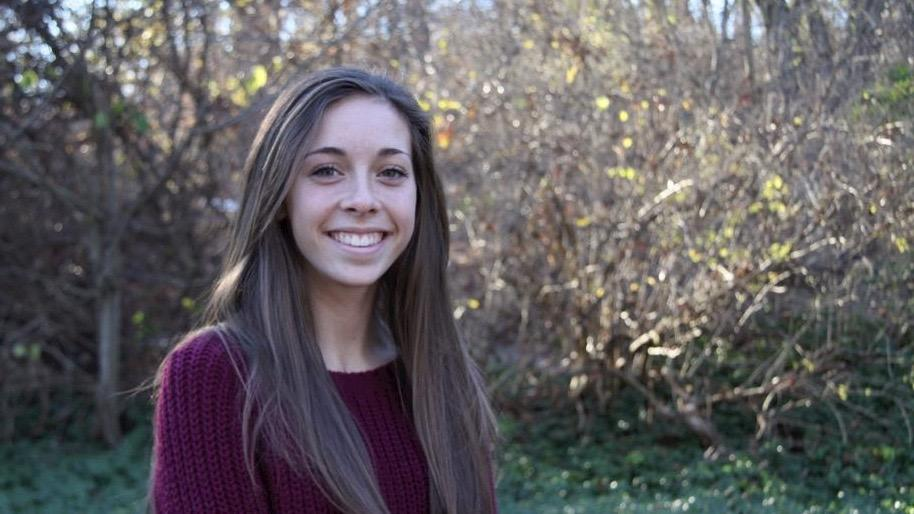 """Pictured above is Kara Whitesell, the class of 2018 president. She explains what it's like leading and planning events for the current sophomore class. """"Even if it means staying up a little bit later, I want to do whatever it takes to make the class of 2018 the best it can be,"""" Whitesell said."""