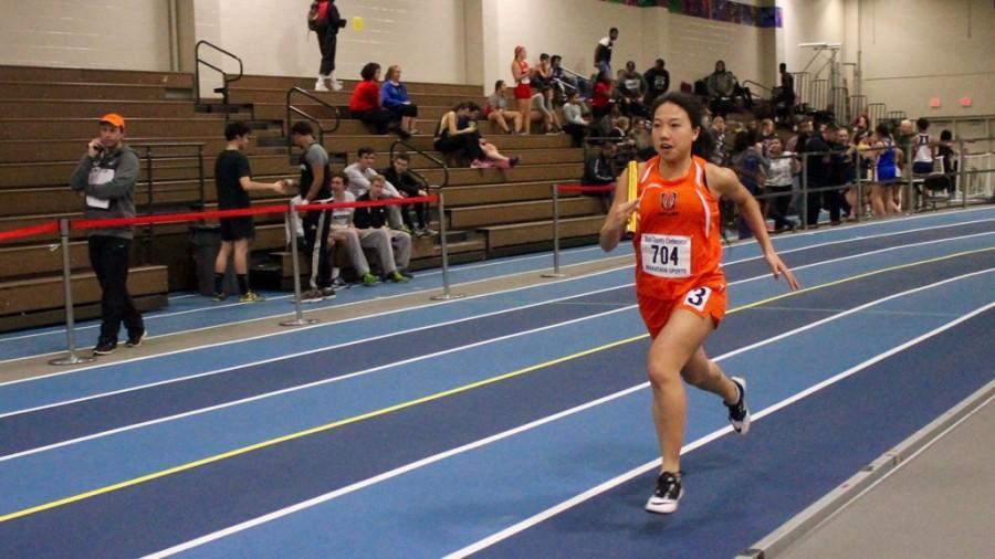 Indoor track competes against Weston (23 photos)