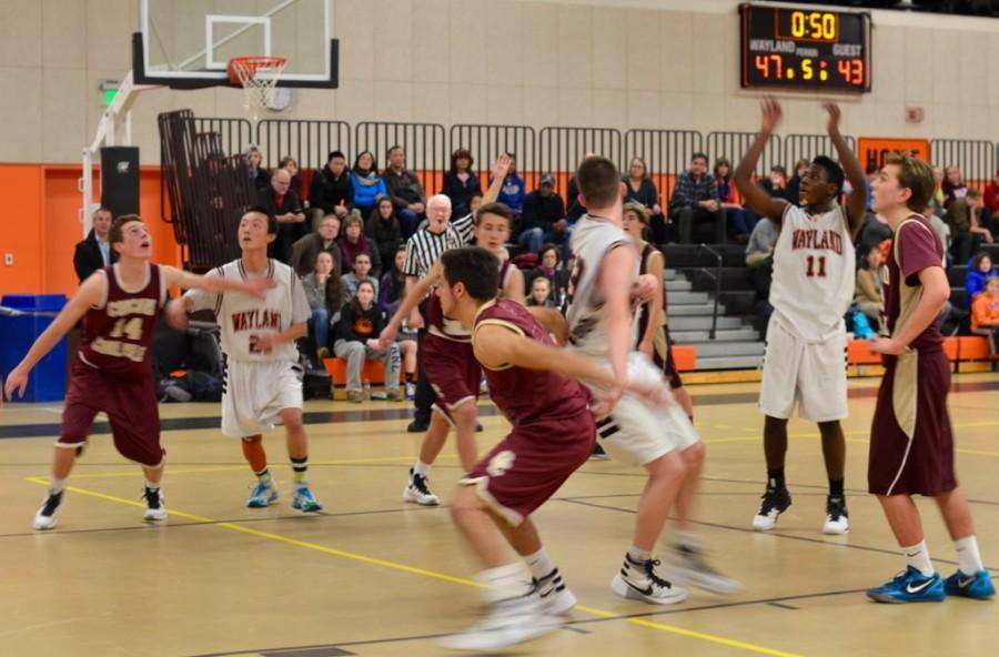 Junior Varsity boys' basketball defeats Concord-Carlisle (30 photos)