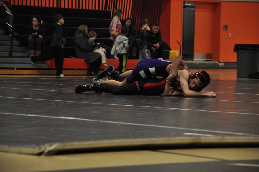 Wayland wrestling defeats Boston Latin (38 photos)