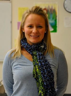 English teacher Nancy Florez