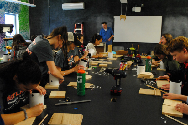 WW 16: Woodworking with Mr. Delaney (17 photos)