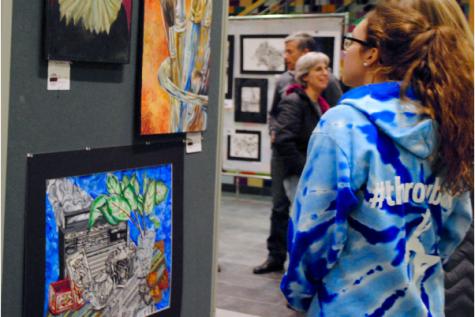 National Art Honor Society holds art show (39 photos)