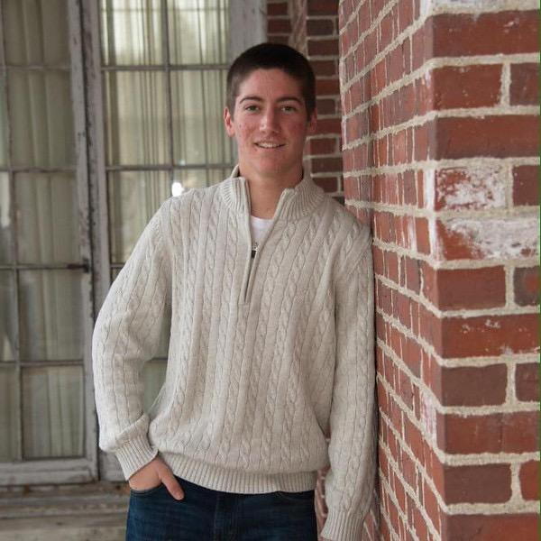 """Pictured is sophomore Riley Bonner.  He has been releasing songs on SoundCloud for the past month, and they've accumulated over 1000 plays. """"I think a lot of people don't say things or do things because they are afraid of the feedback from their friends or peers. If people could get over that, then people would be more distinct, rather than follow somebody else's idea,"""" Bonner said."""