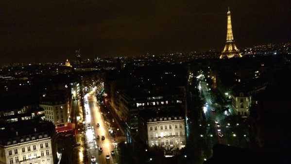 """Above is a photo of Paris, France. Students and teachers from WHS visited France in April. """"I used [French] a lot. At home, I only spoke French with my family, and even when I was with the other Wayland kids, we still spoke French for the most part,"""" Zack Dresens said."""