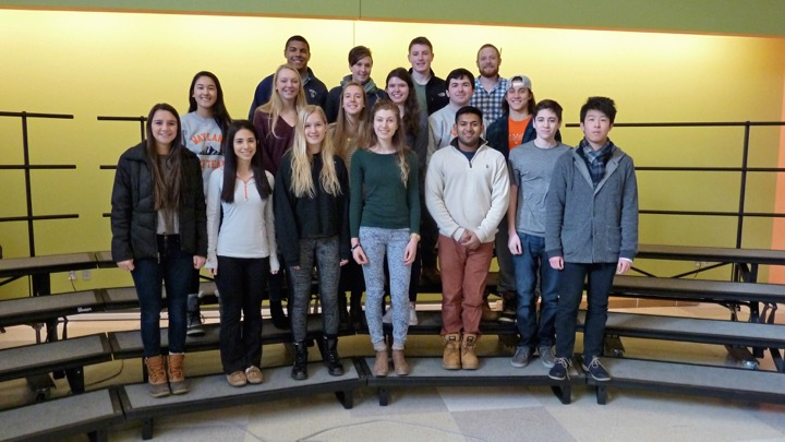 """Pictured above is this year's Student Council Officers and members. Next year, there will be a mandatory contract signed by all council members. """"Because these people are elected by the students, if you get elected then don't show up or don't do the job that we think you're supposed do, then it needs to be addressed,"""" Advisor Jared Walsh said."""