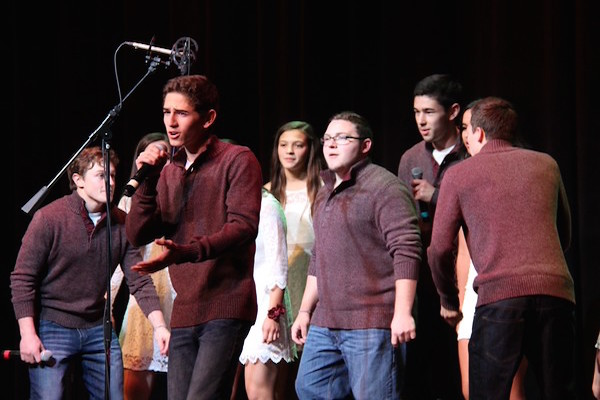 Above is WHS's Madrigals. This year, requirements have changed for members of a cappella groups.