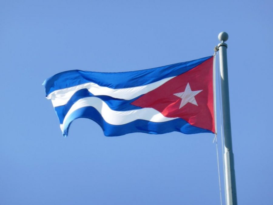 Pictured above is the Cuban flag. WHS will be bringing students to the Caribbean nation for the first time this coming April.