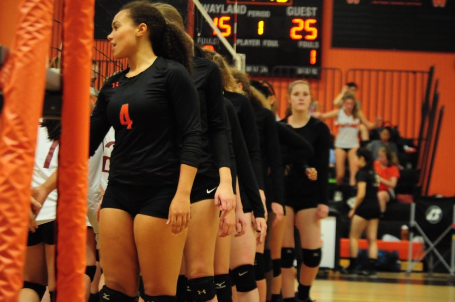 Girls' Volleyball falls to Concord Carlisle