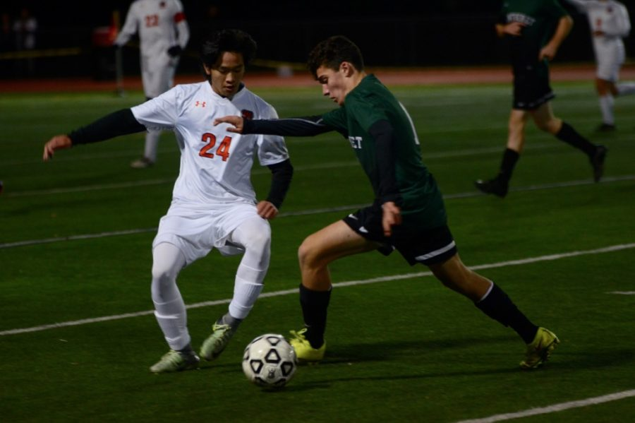 Boys' soccer beats Pentucket Regional (49 photos)