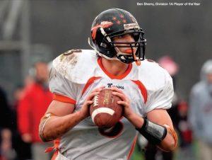 Wayland quarterback Ben Sherry