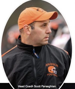 Wayland head coach Scott Parseghian.