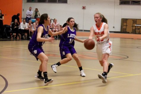 Girls' basketball defeat Boston Latin (23 photos)