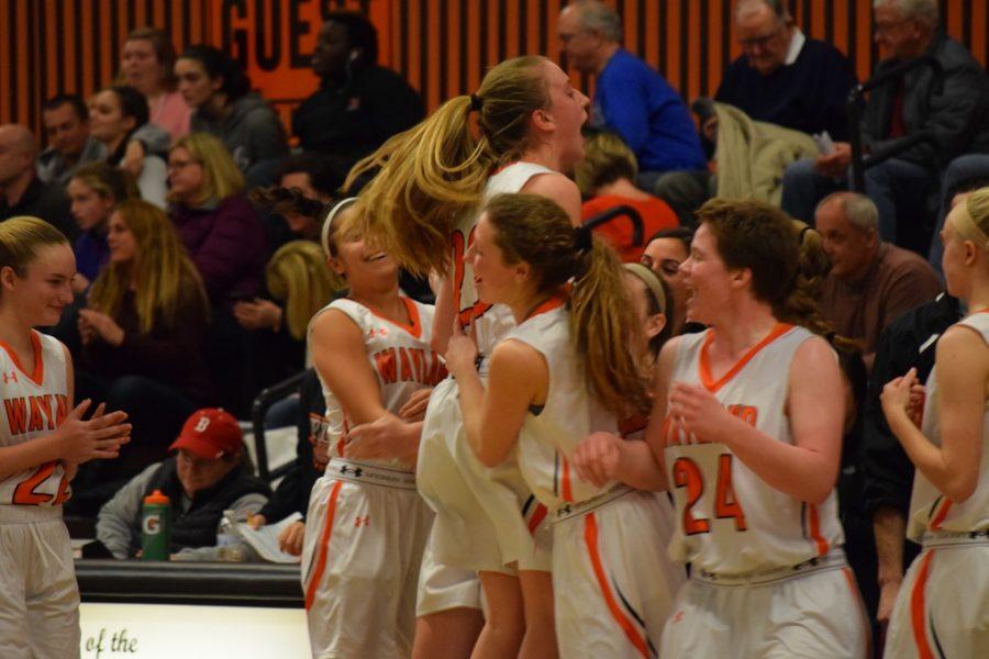 Girls' basketball defeats Waltham (59 photos)