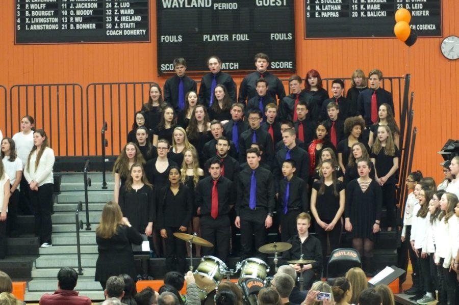 WHS hosts Wayland Sings (24 photos)