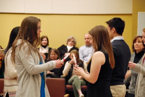Students inducted into National Spanish Honors Society (22 photos)
