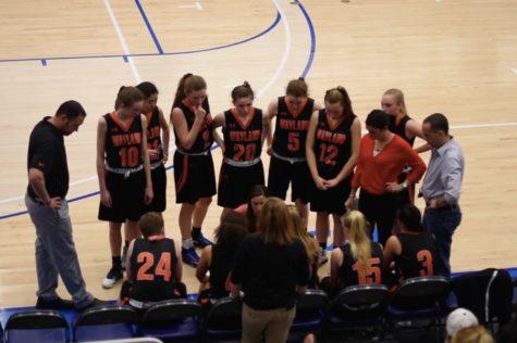 Girls' basketball team finishes season (video)