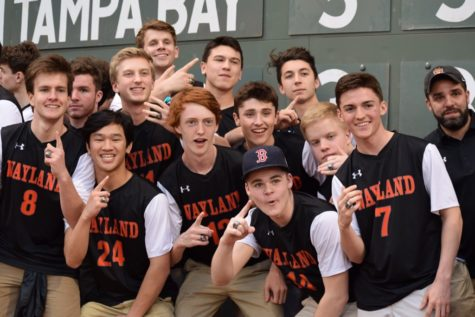 Boys' soccer honored at Red Sox game (50 photos)
