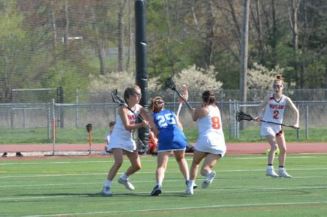Girls' lacrosse defeats Newton South (24 photos)