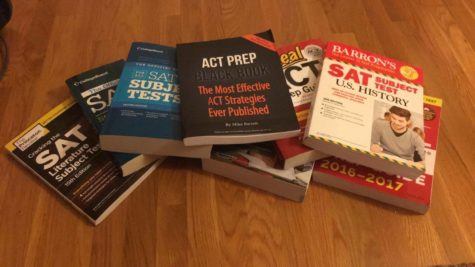 Guides to the SAT, ACT, and SAT II