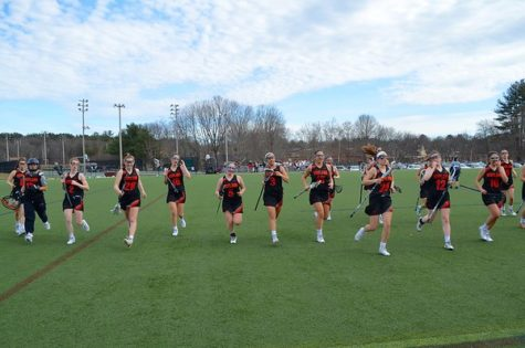 Girls' lacrosse team starts season 13-2