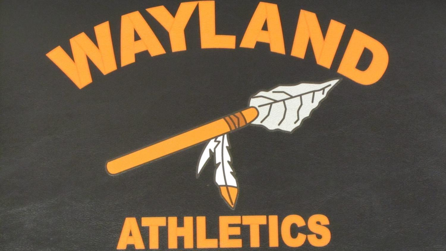 "Wayland High School administration has decided to remove the Native American spear from the school's logo. ""I understand the emotional and cultural connection to a school logo,... But, we are firm in our desire to move away from Native American imagery,"" Mizoguchi said."