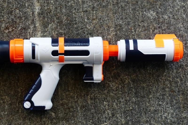 """Pictured above is a water gun, which is what the seniors use in order to eliminate their targets. """"Senior assassin is a game in which everyone participating is assigned a target by random whom they must """"kill"""" by dousing them in water before the end of a round."""""""