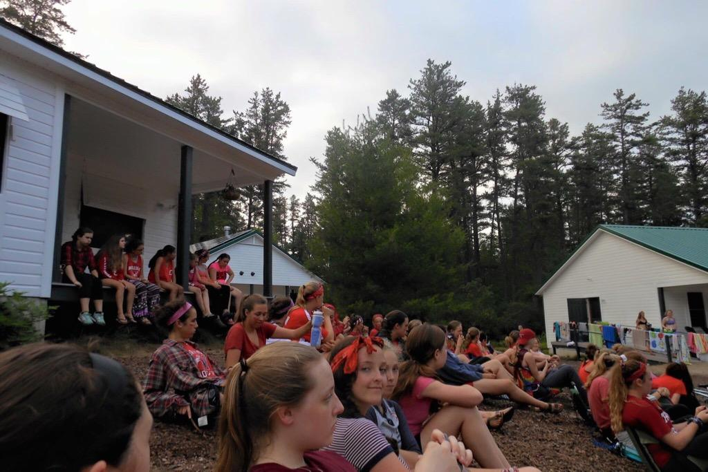 Pictured+above+is+Camp+Nellie+Huckins%2C+an+all-girls+camp+in+New+Hampshire.+%E2%80%9CAll+of+the+best+moments+were+the+small+things+that+happened+randomly.+The+late+nights+talking+with+friends%2C+trying+to+go+for+a+run+and+dying%2C+morning+swims%2C+singing+on+the+tables%2C+dressing+up+like+crazy+people+for+lunches+and+more%2C%E2%80%9D+Johnson+said.+
