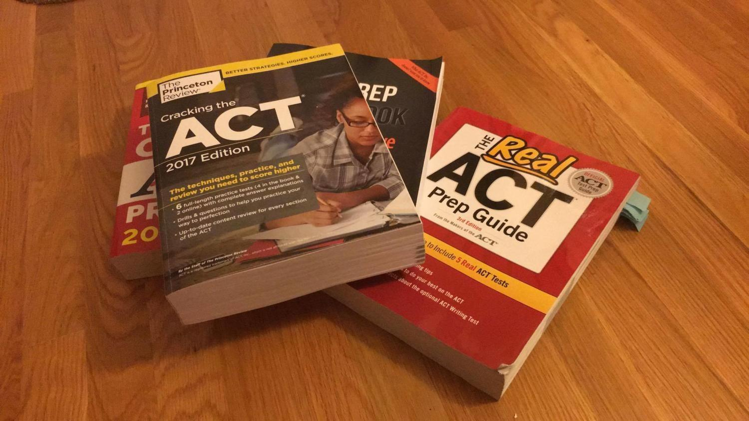 Isabel Gitten and Janani Gandhi share their two experiences with studying for the ACT.
