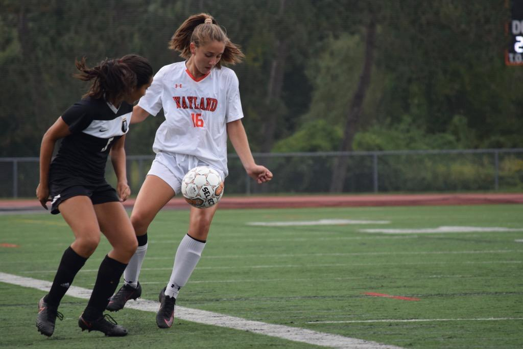 Girls soccer falls to Cambridge Rindge and Latin School (39 photos)