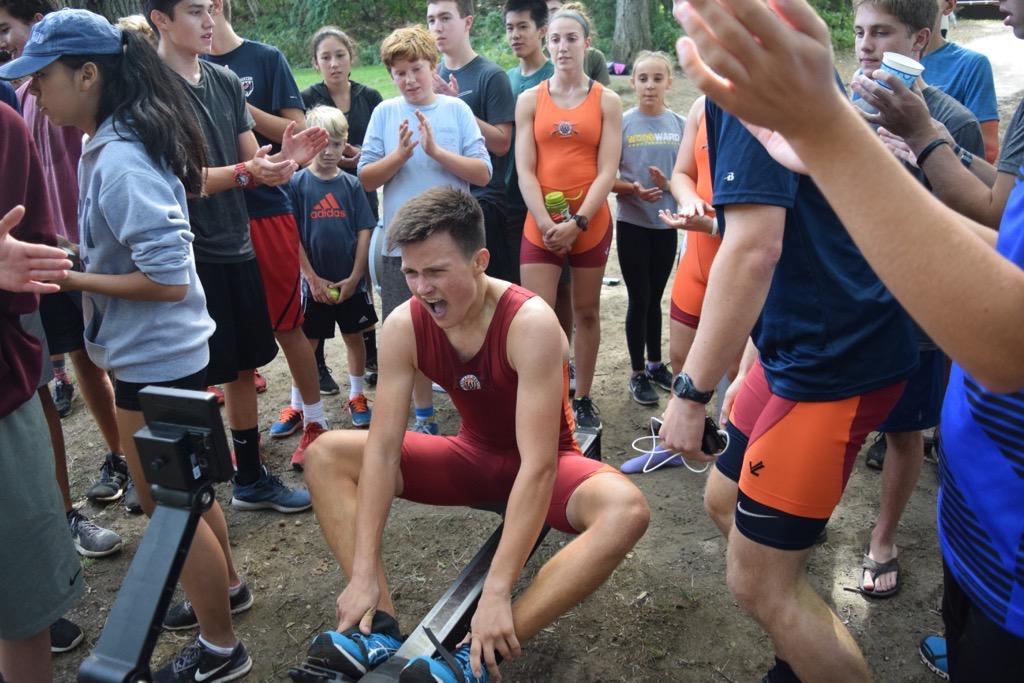 Students participate in the annual Wayland-Weston Crew Ergathon (59 photos)