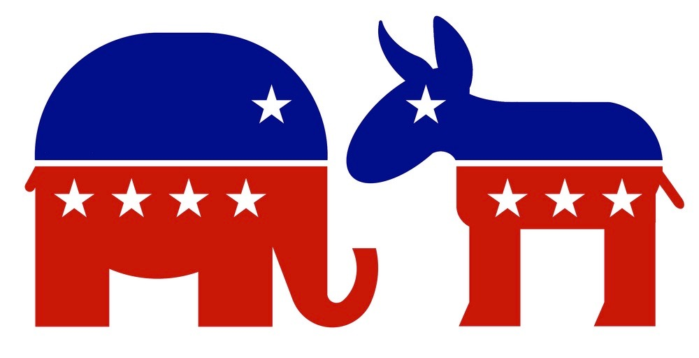 Pictured above are the Democrat and Republican logos. Although the 2016 election has long come and gone, the elections impact on WHS political climate cannot be understated. In an in-depth feature, WSPN reporters Andrew DAmico and Nathan Zhao explore students reactions to the political climate at WHS.