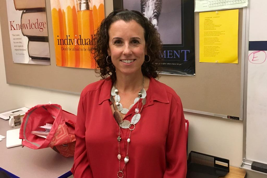 Pictured above is a new Special Education Liaison, Michelle Ross. She is the third teacher featured in WSPN's series Meet the Teacher.
