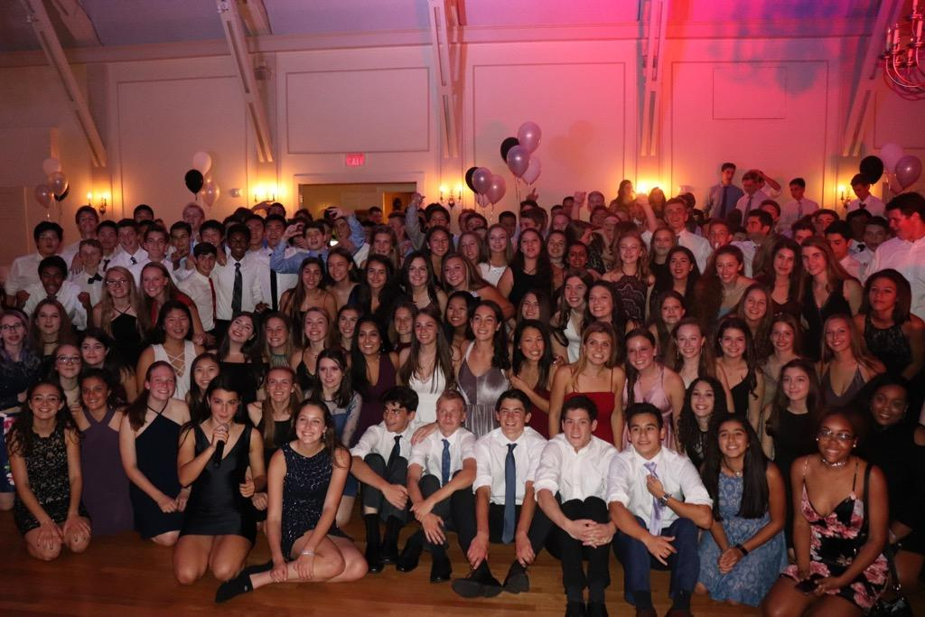 Pictured above is the Wayland High School Class of 2020 at the annual sophomore semi-formal. The sophomore e-board is considering holding an unconventional spring formal this year.