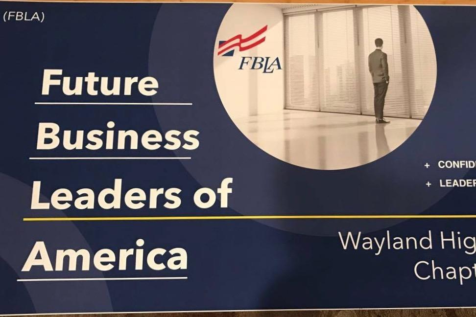 WHS junior Dean Tobia recently founded Wayland's chapter of Future Business Leaders of America. In addition to running the club, Tobia spends time day trading and has become a knowledgable investor.