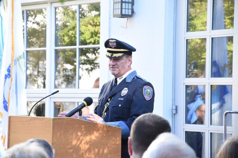 Wayland Police Chief Patrick Swanick sworn in (21 photos)