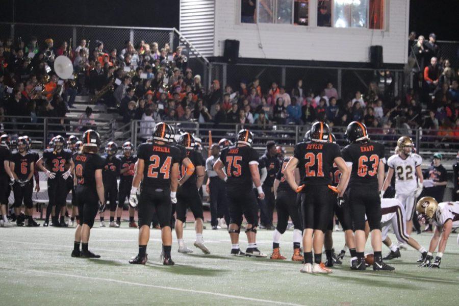 Boys varsity football defeats Concord-Carlisle on senior night (45 photos)