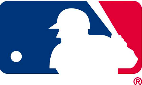 Pictured above is the Major League Baseball logo. WSPN previews the upcoming National and American Leagues Divisional playoff series.